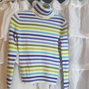 Express 100% cashmere turtle neck sweater